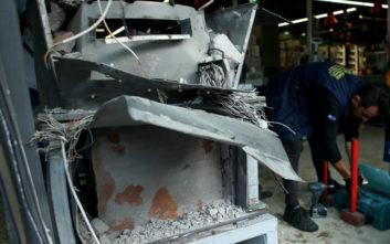 Διαλύθηκε το ΑΤΜ στο Κερατσίνι όπου σημειώθηκε έκρηξη