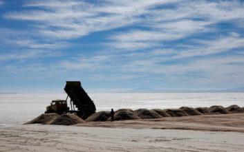 Τα αχανή βολιβιανά κοιτάσματα λιθίου πλέον θα γίνουν και… γερμανικά