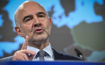 Μοσκοβισί: Αν ήταν άλλος επίτροπος κι όχι εγώ, η Ελλάδα θα είχε βγει από την ευρωζώνη