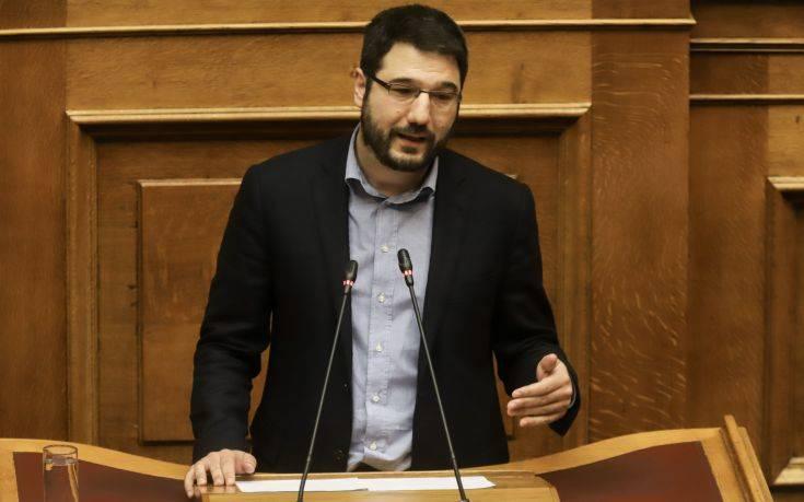 Ηλιόπουλος: Ο Μητσοτάκης συνδιαλέγεται με φασίστες και νεοναζί