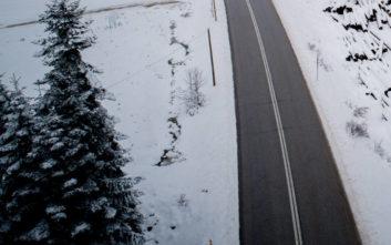 Ο χιονιάς «χτύπησε» τη Φθιώτιδα και την Ευρυτανία