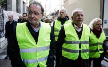 Στο διαδήλωση των «κίτρινων γιλέκων» στο Παρίσι ο Παναγιώτης Λαφαζάνης