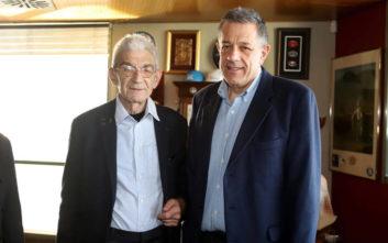 Συνάντηση Μπουτάρη με τον υποψήφιο δήμαρχο Θεσσαλονίκης Ν. Ταχιάο