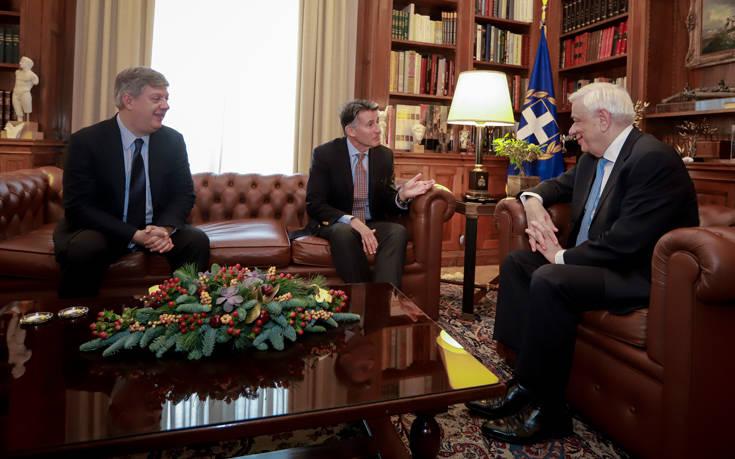 Συνάντηση Παυλόπουλου με τον πρόεδρο της IAAF