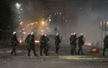 Στον εισαγγελέα 11 συλληφθέντες για τα χτεσινά επεισόδια στη Θεσσαλονίκη