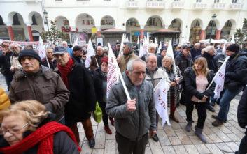 Στους δρόμους της Θεσσαλονίκης σήμερα οι συνταξιούχοι