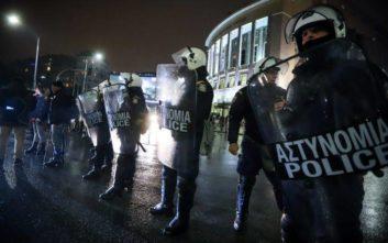 Μπλόκο των ΜΑΤ σε διαδηλωτές στη Θεσσαλονίκη