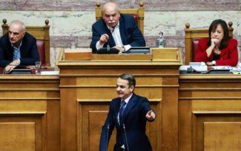 Άναψαν τα αίματα μεταξύ Μητσοτάκη και Βούτση στη Βουλή
