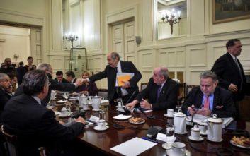 «Ομοθυμία» και «καλό κλίμα» στο Εθνικό Συμβούλιο Εξωτερικής Πολιτικής