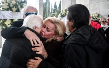 Συγκίνηση στον αποχαιρετισμό της Μαριάννας Τόλη