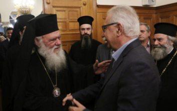 Γαβρόγλου: Σημαδιακή χρονιά για καλύτερη συνεργασία Πολιτείας-Εκκλησίας το 2019