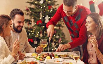Μη φοβηθείτε να φάτε στις γιορτές