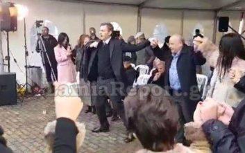 Με τσάμικο «παρουσίασε» τους υποψηφίους του ο Γκλέτσος