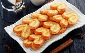 Μπισκότα παλμιέ