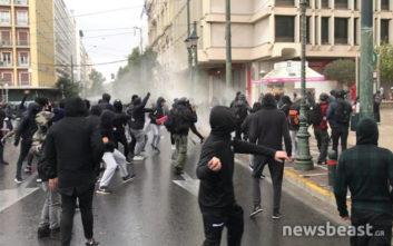 Μία προσαγωγή για τα επεισόδια στο κέντρο της Αθήνας