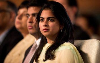 Αστέρες και επίδειξη πλούτου στον γάμο της κόρης του πλουσιότερου άνδρα της Ινδίας