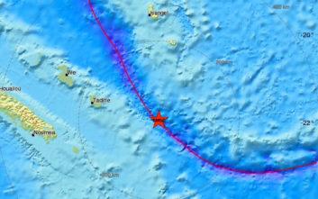 Παλιρροϊκά κύματα στον Ειρηνικό μετά τον ισχυρό σεισμό στη Νέα Καληδονία
