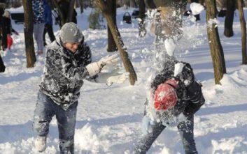 Χάρη σε έναν 9χρονο βγήκαν από την παρανομία οι χιονόμπαλες