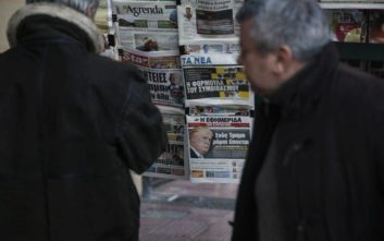 Συνεχίστηκε η πτώση στις πωλήσεις εφημερίδων και περιοδικών το 2019