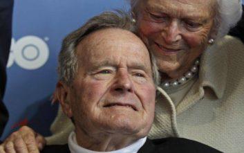 Τραμπ για Μπους: Ενέπνευσε γενιές αμερικανών πολιτών