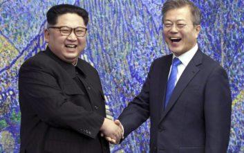 Περισσότερες συναντήσεις με τον Νοτιοκορεάτη πρόεδρο θέλει ο Κιμ Γιονγκ Ουν