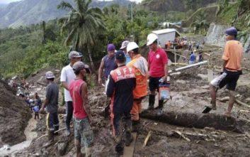 Στους 68 οι νεκροί από την τροπική καταιγίδα στις Φιλιππίνες