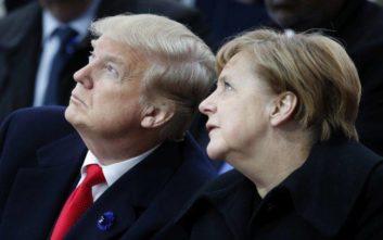 Συνάντηση Μέρκελ-Τραμπ στο περιθώριο της G20