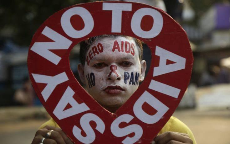 Σχεδόν 770.000 οι νεκροί από AIDS το 2018 παρά τη μείωση των νέων κρουσμάτων
