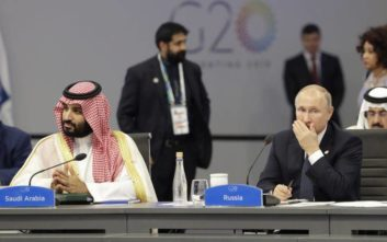 Το «χάι φάιβ» μπιν Σαλμάν και Πούτιν και η αμηχανία στην «οικογενειακή» φωτογραφία του G20