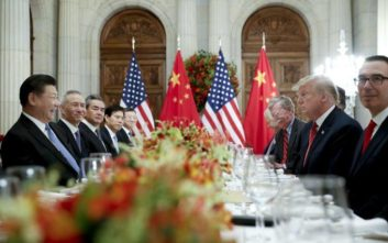 Κήρυξη εκεχειρίας 90 ημερών μεταξύ Κίνας και ΗΠΑ
