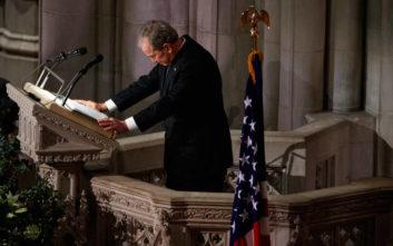 Τζορτζ Μπους: Ο καλύτερος πατέρας που ένας γιος και μία κόρη θα μπορούσε να έχει