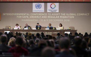Εγκρίθηκε το Παγκόσμιο Σύμφωνο του ΟΗΕ για τη μετανάστευση