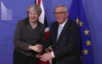 Μέι: Είμαστε ακόμα στην αρχή των διαπραγματεύσεων με τους Ευρωπαίους