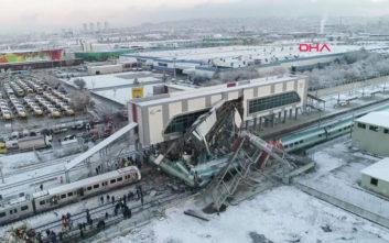 Επτά οι νεκροί από τη σύγκρουση τρένων στην Τουρκία