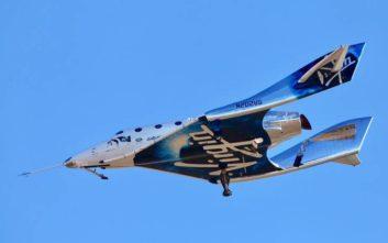 Πέρασε το τεστ το διαστημικό τουριστικό σκάφος της Virgin Galactic