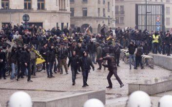 Συγκρούσεις μεταξύ εθνικιστών και αστυνομίας στις Βρυξέλλες