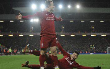 Με ήρωα τον Σακίρι η Λίβερπουλ κέρδισε με 3-1 στο ντέρμπι με την Γιουνάιτεντ