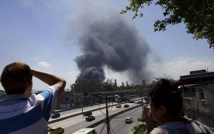 Τεράστια πυρκαγιά «κατάπιε» 600 σπίτια σε πόλη της Βραζιλίας