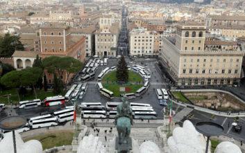 Η Ρώμη «παρέλυσε» από κινητοποίηση οδηγών τουριστικών λεωφορείων