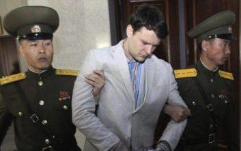 Ποσό-μαμούθ καλείται να δώσει η Βόρεια Κορέα στην οικογένεια του Ότο Γουόρμπιρ