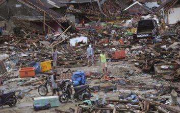 Στους 429 έφτασαν οι νεκροί από το τσουνάμι στην Ινδονησία