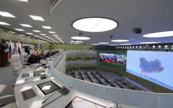 Πούτιν: Το σύστημα υπερηχητικών πυραύλων Avangard, λειτουργικό από το 2019