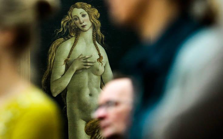 Η απίστευτη ομορφιά της «Αφροδίτης» του Μποτιτσέλι προκάλεσε καρδιακό επεισόδιο σε άνδρα