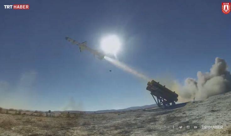 Μαζική παραγωγή πυραύλων κατά πλοίων ξεκινά η Τουρκία