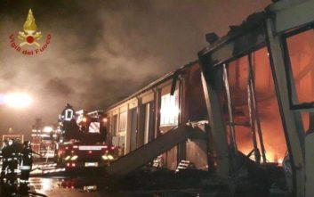 Δύο νεκροί από μεγάλη έκρηξη σε βενζινάδικο στη Ρώμη