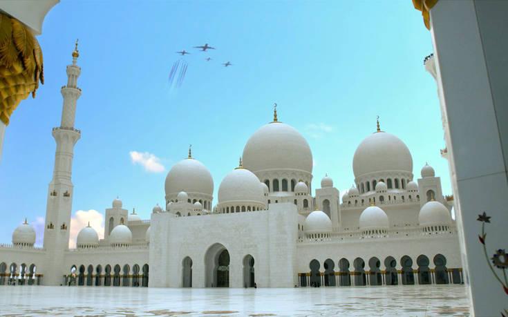 EK UAE carriers Sheikh Zayed Grand Mosque