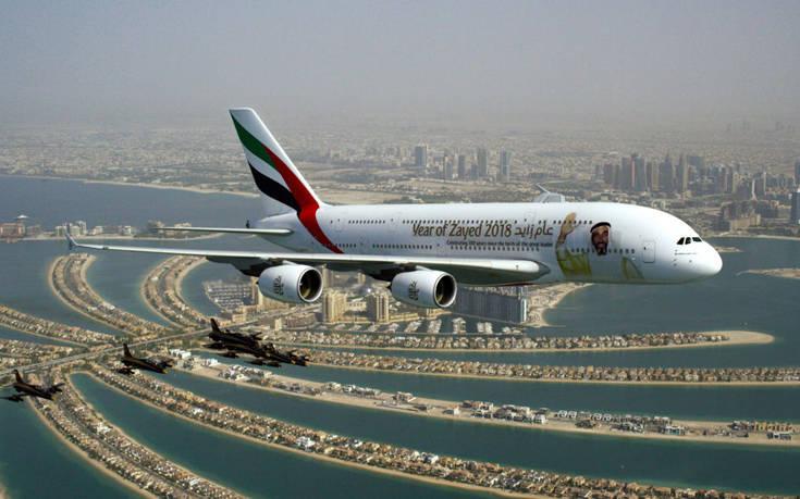 EK UAE carriers flypast 3