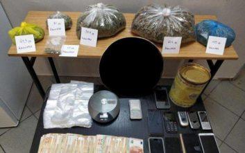 Γονείς και παιδιά διακινούσαν ναρκωτικά στην Εύβοια