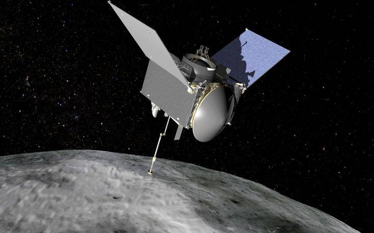 Η NASA θα συλλέξει για πρώτη φορά δείγμα από αστεροειδή