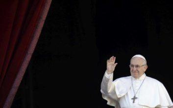 Πάπας Φραγκίσκος: Οι διαφορές των ανθρώπων είναι πλούτος και όχι πηγή κινδύνων